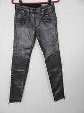 Diesel Jeans Skinzee-Bk 884Q Super Slim-Skinny Regular Waist Size 28