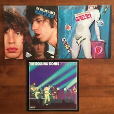 Rolling Stones : Lot of 3 LP's - Black & Blue / Undercover / Great Hits