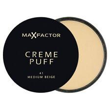 Max Factor Creme Puff Compact Powder - 41 Medium Beige - NEW - FREE P&P - UK