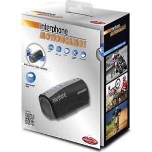 Interphone Motion Piston Full HD Vidéo Imperméable Camera Pour Motos / Voitures
