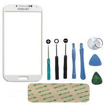 Genuine Glass White Replacement Front Outer Screen For Samsung Galaxy S4 i9500