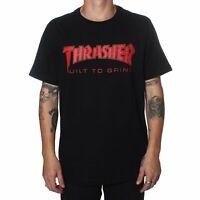 Indy Trucks x Thrasher Tee BTG Black Independent Skateboard T-Shirt