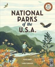 National Parks of the USA, Hardcover by Siber, Kate; Turnham, Chris (ILT), Br...
