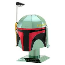 Fascinations Metal Earth Star Wars Boba Fett Helmet 3D Steel Model Kit MMS315
