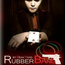 Rubber Bang by Sean Yang - USA Rubber Band Cards Magic Trick - Instant Download!
