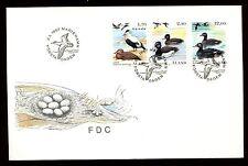 Aland Islands 1987, Birds FDC #C10705