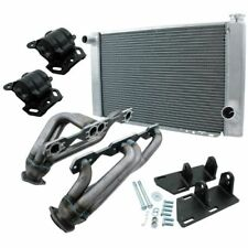 Allstar Performance 38251 Conversion Kit w/Radiator For Chev/GM S10 V8 TH350 2WD