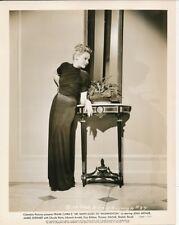 Astrid Allwyn Vintage Mr. Smith Goes To Washington Art Deco Portrait Photo