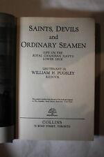 WW2 Canadian RCNVR Saints Devils & Ordinary Seamen Book