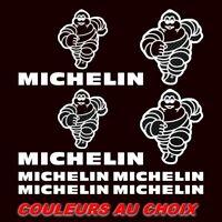 10 Stickers MICHELIN Autocollants Adhésifs Auto Moto Voiture Sponsor RALLYE