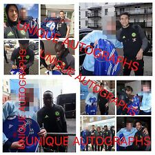 Chelsea 2016/17 Signed Shirt, 17, Kante, Hazard, Costa, Courtois PROOF 2
