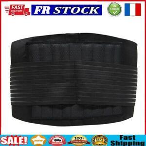 Renfort de Support durable noir taille ceinture lombaire inférieur Double r