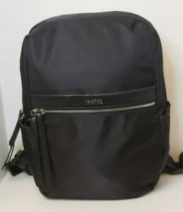 Kenneth Cole Reaction Commuter Backpack Black Nylon MSRP 129$ New