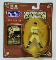 TRIS SPEAKER - Starting Lineup MLB SLU 1998 Cooperstown Collection Figure & Card