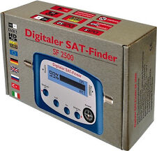 Digital Sat Finder SF 2500 SATFINDER Satellite Finder SAT-Finder sf2500