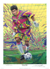 Jorge Campos soccer signed art print - Small Open Edition