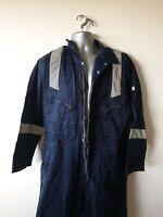 "Welding PPE Flame Retardant Overalls hi-vis Boiler Suit XXL 52R 52"" chest #575"