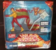 "DC UNIVERSO YOUNG JUSTICE 6"" KID Flash figura in Scatola"