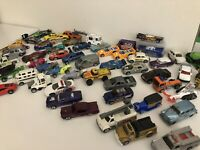 Hot Wheels Matchbox Maisto Mixed Lot Of 58 Used Die Cast Vehicles