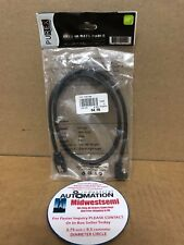 NIB PUREX PXC-S02 SATA III/II/I DATA CABLE 180 TO SATA 7P 90 DEGREE WITH LATCH