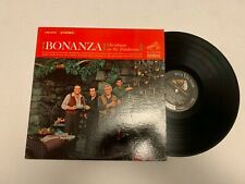 Bonanza Christmas on the Ponderosa Record lp original vinyl album