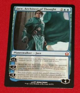Magic The Gathering Jace, Architect of Thought Return to Ravnica Used