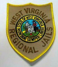 OLD WEST VIRGINIA REGIONAL JAILS PATCH UNUSED