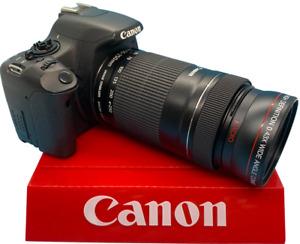 0.43x FishEye Lens w/ Macro for Canon EOS Camera T6i T6S SL1 T5i T5 T4 T4i T2 T3