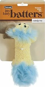 PETMATE BOODA CATNIP IITTY BITTY BATTER LION KITTEN OR CAT TOY. FREE SHIP TO USA
