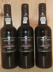 2011 Quinta do Noval Unfiltered Late Bottled Vintage Port 3 Halbflaschen 0,375L