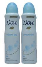 Dove Cotton Dry Anti-Perspirant Deodorant Spray 150 Ml (Pack of 2)