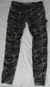 Chapter Young Jeans Hose Jeanshose  Gr. 176 camouflage tarn oliv Taschen