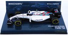 Minichamps Williams F1 FW38 #77 2016 - Valtteri Bottas 1/43 Scale