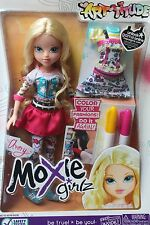 New Moxie Girl Girlz Avery Doll color Your Fashion Outfit Dress Art Blonde Pink