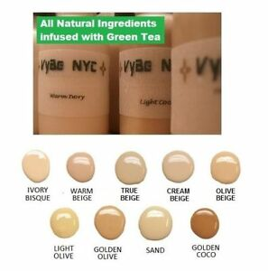 Airbrush Makeup by VyBe NYC vegan all natural luminess glow