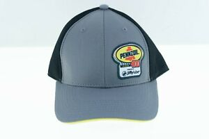 NWOT Pennzoil Las Vegas 400 Jiffy Lube NASCAR Baseball Hat Cap Black Gray Logos