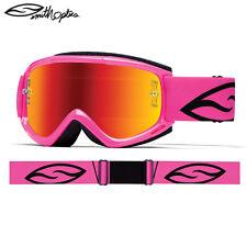Smith Fuel 2.1 Enduro Downhill Ensayos Casco de Motocicleta Gafas Rosa Brillante Venta