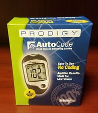 Prodigy Autocode Blood Glucose Monitoring System See Description