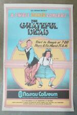 GRATEFUL DEAD NASSAU UNIONDALE 1973 CONCERT POSTER SWELL DANCE 2ND