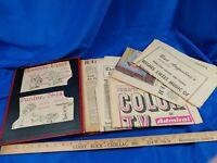 1967-68 Indiana University IU Hoosiers Football NCAA Rose Bowl Scrapbook VTG OJ