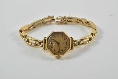 a76m50- IWC Damen Armbanduhr mit 750er/ 18kt. Gold Gehäuse und Band