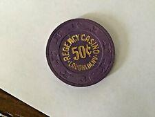 Regency Casino Laughlin NV $0.50 casino chip