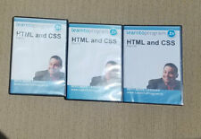 Learn To Program Html & Css Tutorial Training 3 Dvds Computer Programming
