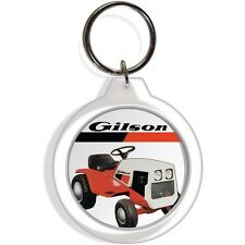 Gilson Garden Lawn Tractor Mower equipment Tractor Keychain Key Chain Ring gift