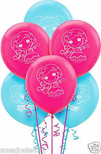 2 Pkgs Lalaloopsy Latex Balloons 12pcs Party Decorations Favors Supplies