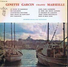 25 CM 10 INCHES FRANCE GINETTE GARCIN CHANTE MARSEILLE