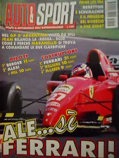 Auto & Sport ROMBO 15 1995 Gp Argentina vinto da Hill - Divorzio Schumacher Bene