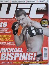 UFC Australia Magazine Issue 6 - September 2011 20% Bulk Magazine Discount