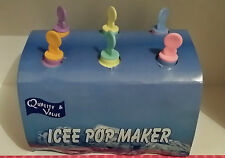 ICY POLES MOULDS, ICEE POP MAKER, MAKE 6 HEALTHY TREATS @ A TIME 60ML, NEW PACK