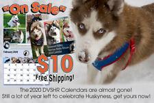 Sale! 2020 Delaware Valley Siberian Husky Rescue's 25th Anniversary Calendar!